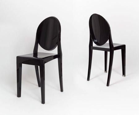 SK Design KR003 Schwarz Stuhl