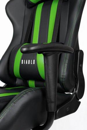Fotel Gamingowy Diablo X-One Czarno-zielony