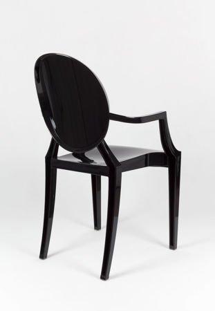 SK Design KR001 Schwarz Stuhl