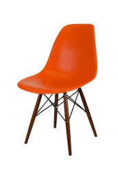 SK DESIGN KR012 ORANGE chair WENGE