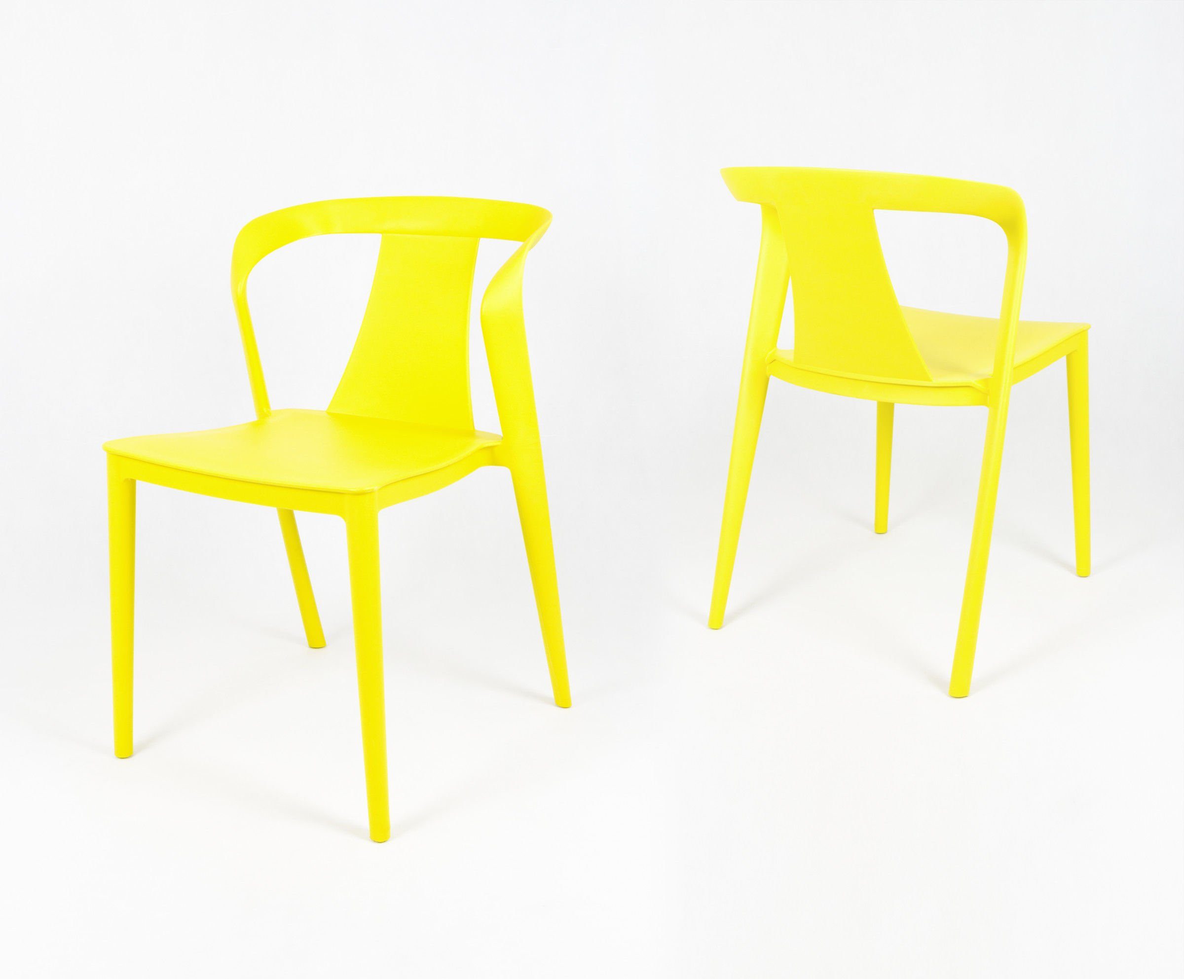 SK DESIGN KR052 YELLOW POLYPROPYLENE CHAIR Click To Zoom ...