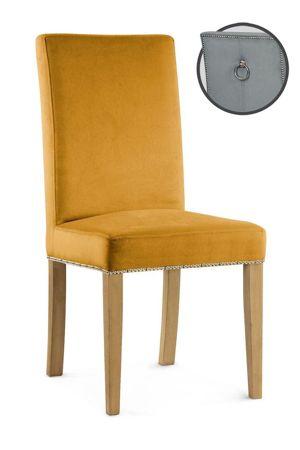 Chair Willford III honey / leg oak / KR01