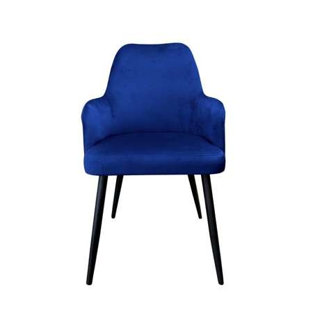 Blue upholstered PEGAZ chair material MG-16