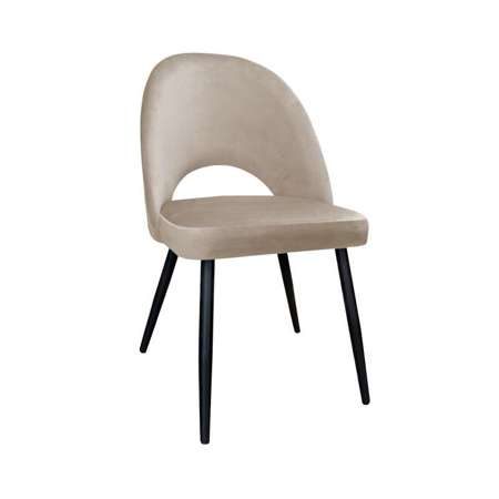 Bright brown upholstered LUNA chair material MG-06