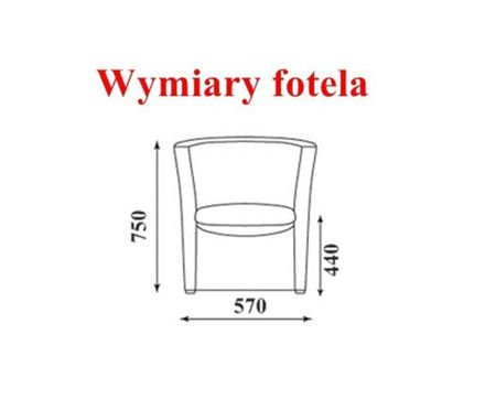 CAMPARI armchair microfibre 17