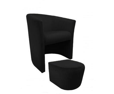 CAMPARI armchair with footrest Magic Velvet 19
