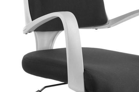 Fotel obrotowy Negros Czarny/Szary