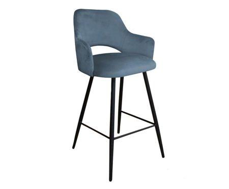 Gray-blue upholstered STAR hoker material BL-06
