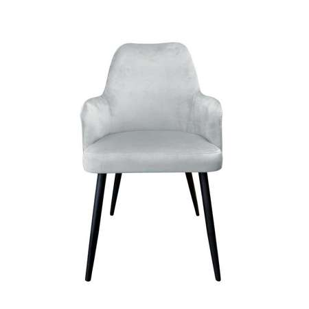 Gray upholstered PEGAZ chair material MG-17