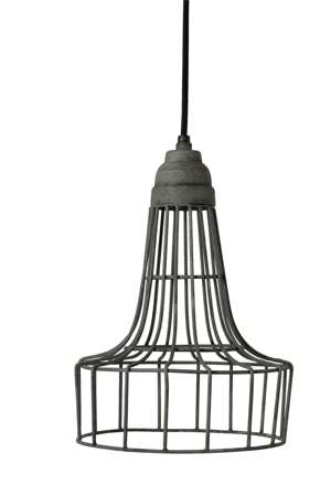 Hanging lamp Babette cement