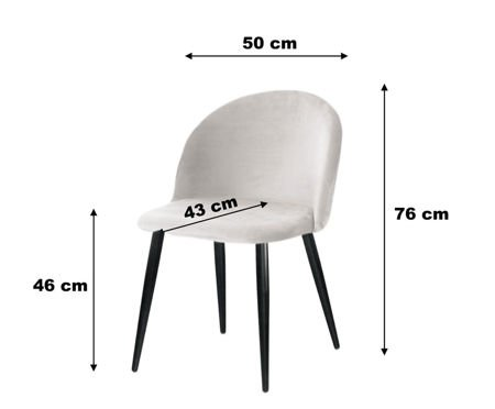 KALIPSO chair blue-gray material BL-06