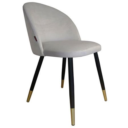 KALIPSO chair light gray material MG-39 with golden leg