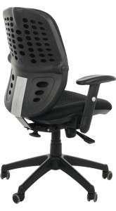 Krzesło Fotel obrotowy Delos - Czarny
