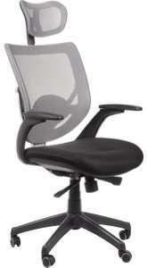 Krzesło Fotel obrotowy Samara - szary