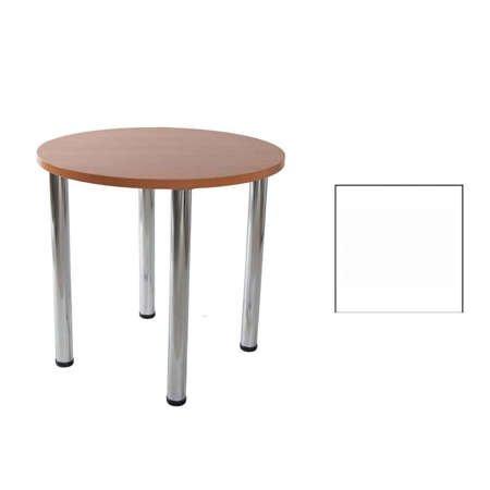 Lucio table 01 White Ø 80 cm