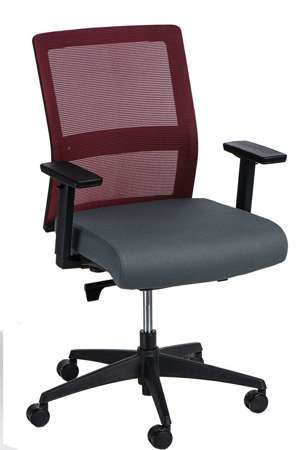 Office chair Press red / black