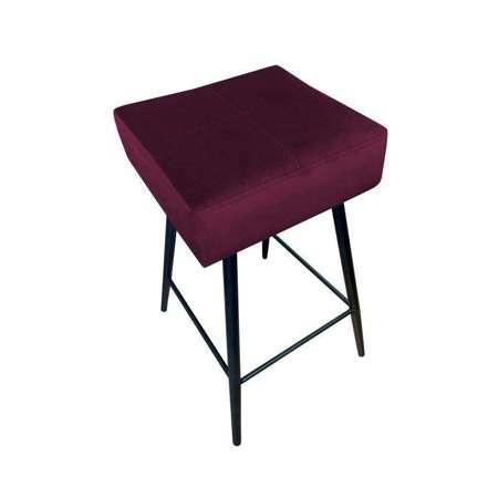 Plum upholstered FENIKS hoker material MG-02