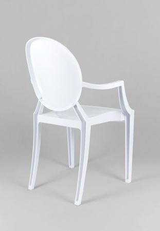 SK Design KR001 White Chair