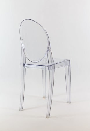 SK DESIGN KR003 CLEAR CHAIR GHOST