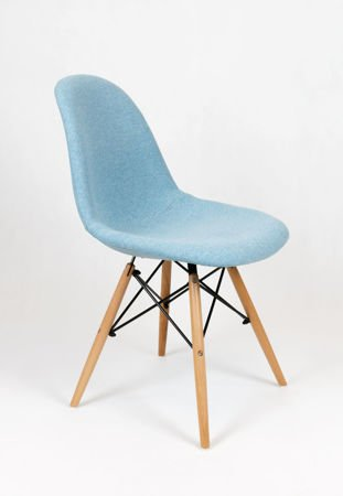 SK DESIGN KR012 TAPICERATED CHAIR MALAGA16  BEECH
