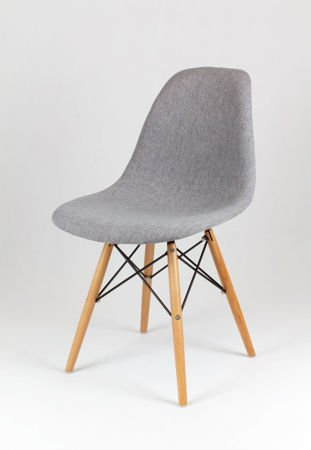 SK DESIGN KR012 UPHOLSTERED CHAIR MUNA08 BEECH