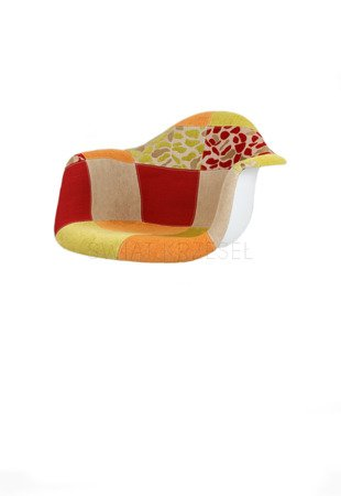 SK Design KR012F Upholstered Seat Patchwork 4