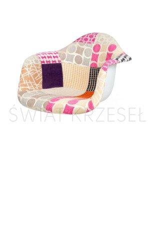SK DESIGN KR012F UPHOLSTERED SEAT PATCHWORK 7