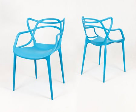 SK DESIGN KR013 BLUE CHAIR
