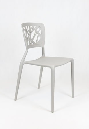 SK DESIGN KR014 LIGHT GREY CHAIR