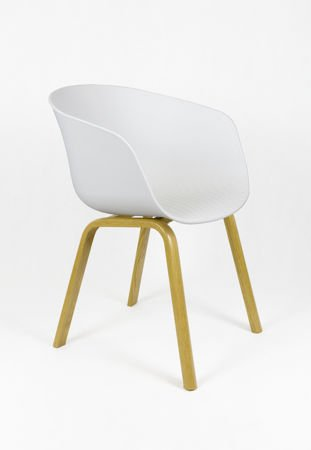 SK DESIGN KR049 WHITE CHAIR