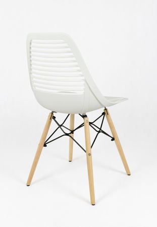 SK DESIGN KR058 WHITE CHAIR