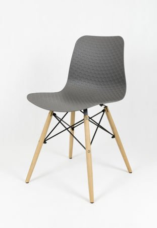 SK DESIGN KR059 GREY CHAIR
