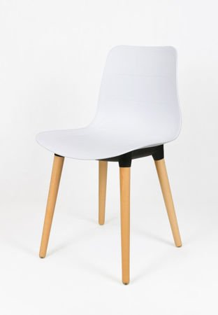 SK DESIGN KR062 White Chair