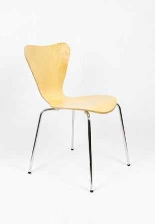 SK DESIGN SKD007 CHAIR NATURAL WOOD