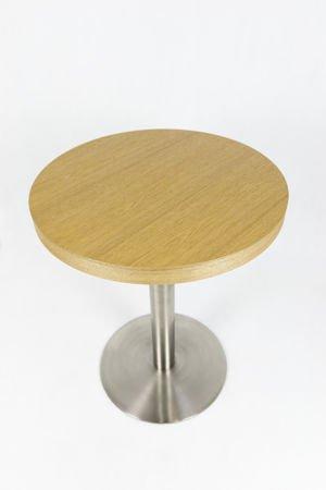 SK DESIGN ST17 TABLE Ø 60 cm, CHROME
