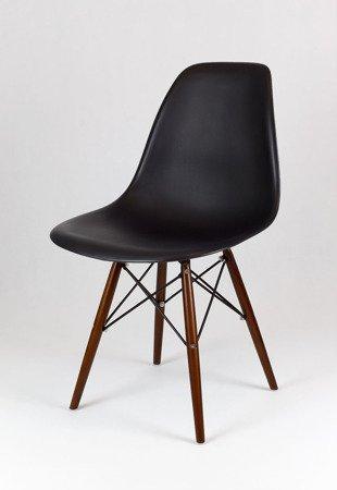 SK Design KR012 Black Chair Wenge