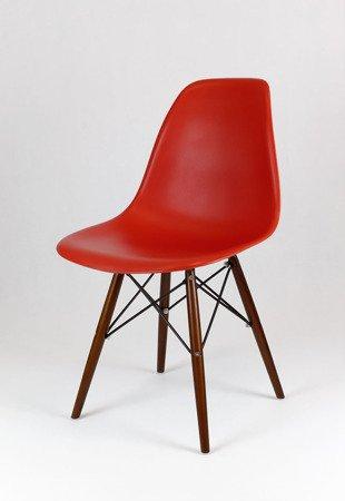 SK Design KR012 Dark Orange Chair Wenge