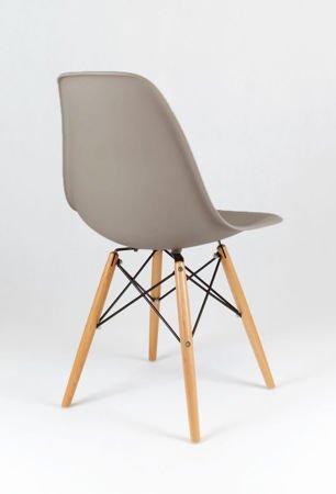 SK Design KR012 Mild Grey Chair Beech