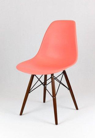 SK Design KR012 Pink Chair, Wenge legs