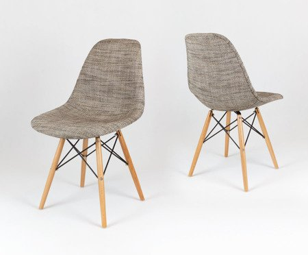 SK Design KR012 Upholstered Chair Lawa02, Beech legs