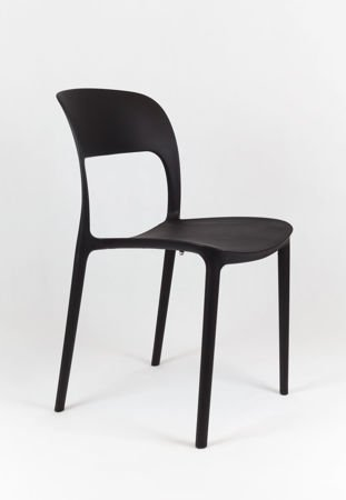 SK Design KR022 Black Polypropelene Chair UFO