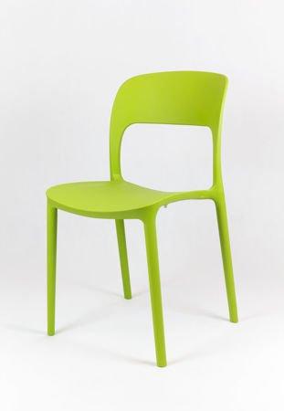 SK Design KR022 Green Polypropylene Chair UFO