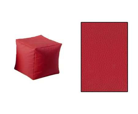 SKN Pouf Red Cubes