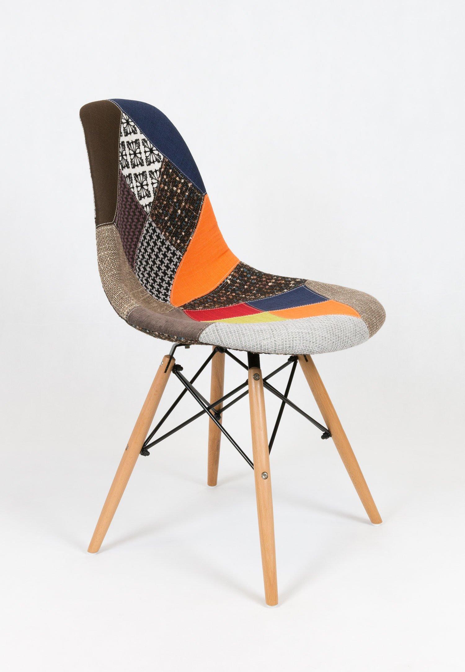 sk design kr012 gepolsterter stuhl patchwork 3 buche pat3 holz buche angebot st hlen salon. Black Bedroom Furniture Sets. Home Design Ideas