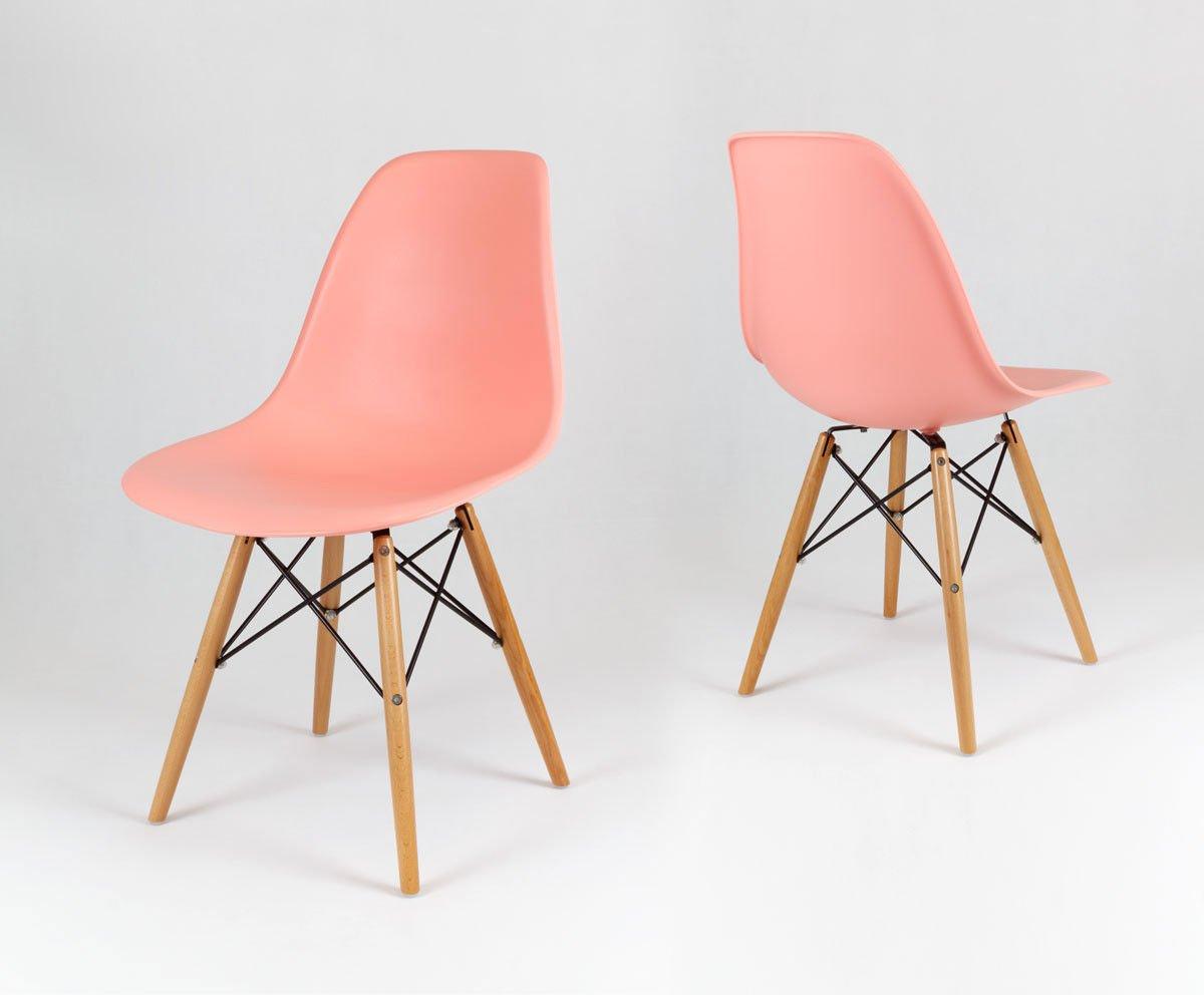 Sk design kr012 hellrosa stuhl buche hellrosa holz buche for Design stuhl hersteller