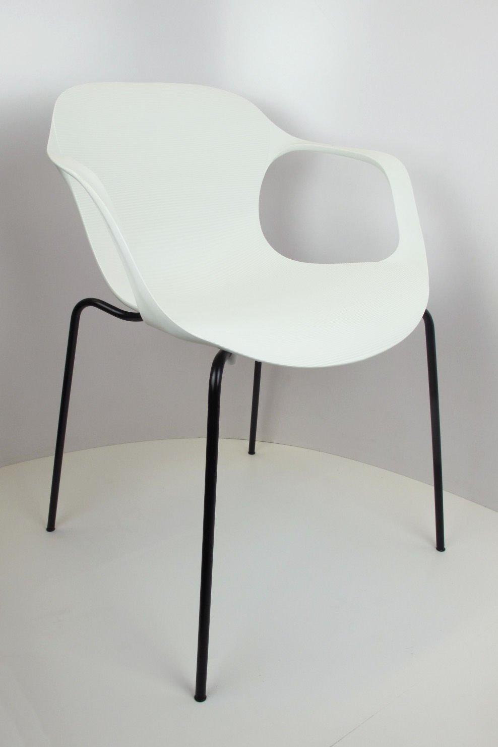 sk design kr018 weisser stuhl mit metallgestell weiss schwarz angebot st hlen salon. Black Bedroom Furniture Sets. Home Design Ideas