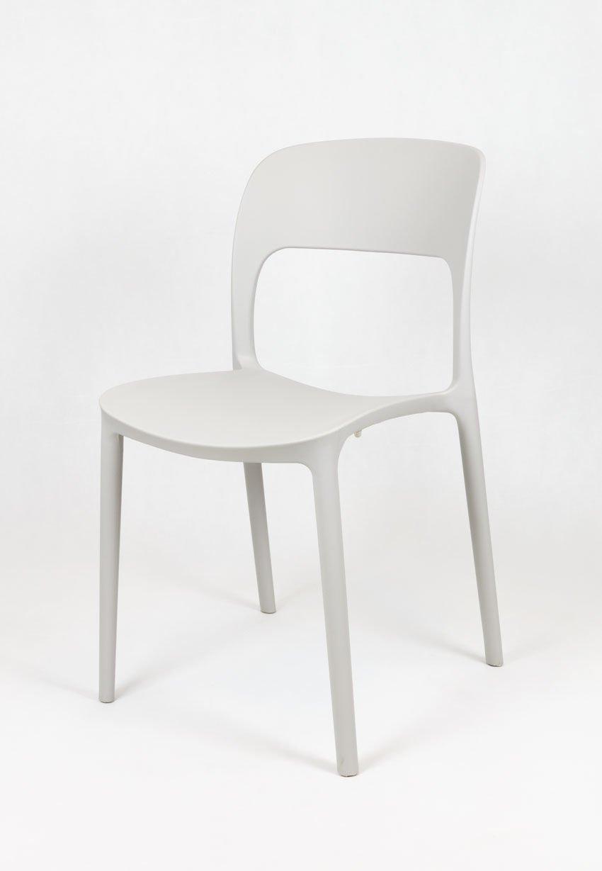Sk design kr022 hellgrau stuhl aus polypropylen hellgrau for Design stuhl hersteller