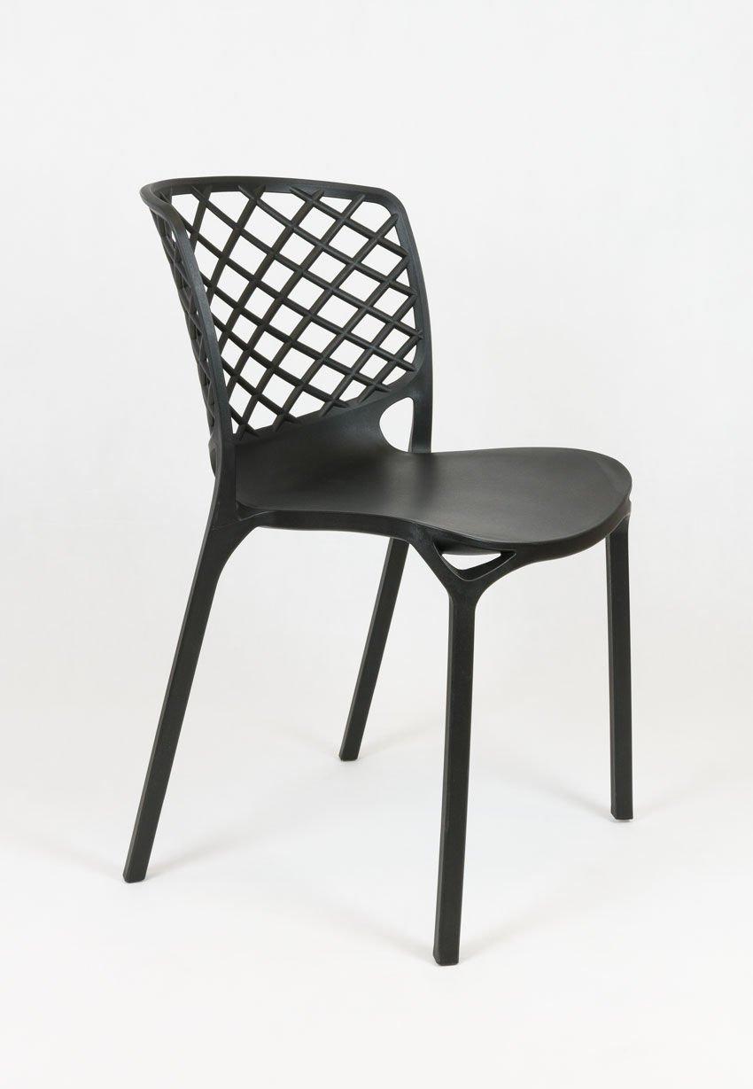 Sk design kr047 schwarz stuhl schwarz angebot st hlen for Design stuhl schwarz
