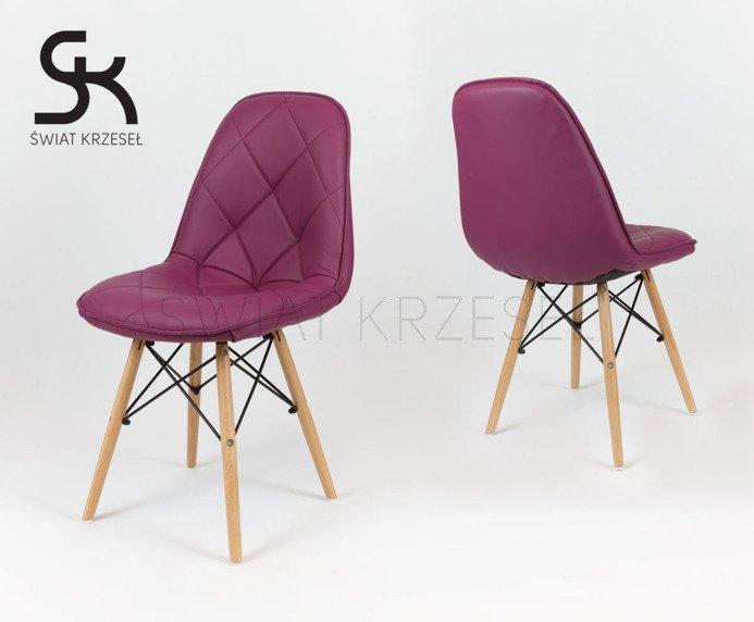 sk design ks007 violett kunsleder stuhl mit holzbeine lila sonderangebote angebot st hlen. Black Bedroom Furniture Sets. Home Design Ideas