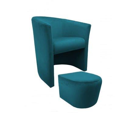 CAMPARI Sessel mit Fußstütze Magic Velvet 20
